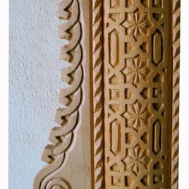 Carved Door Surround Trim