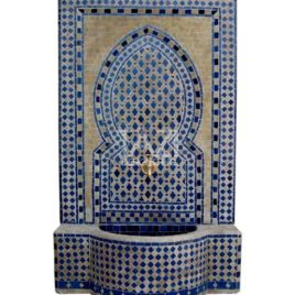 Marrakech Fountain Beige and Blue