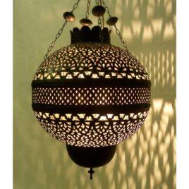 Moroccan Light Fixture – Pomegranate, small
