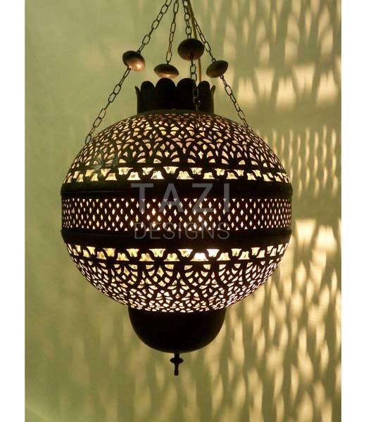 Moroccan Light Fixture Pomegranate Small Tazi Designs