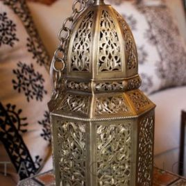 Moroccan Lantern – High End Brass Pendant