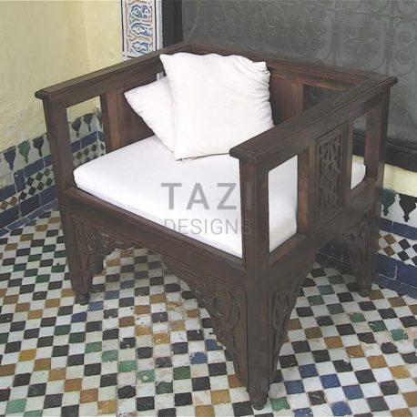 Moroccan Furniture – Wood Chair