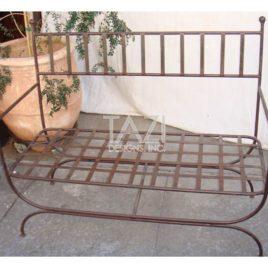 Mediterranean Outdoor Bench