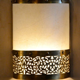 Brass Sconce – Fancy Moorish Lighting