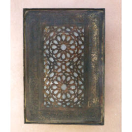 Outdour Light – Mediterranean Sconce – Bronze finish