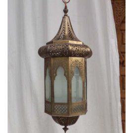 High End Moorish Entryway Lantern