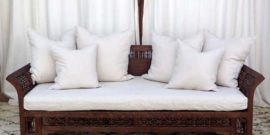 Moroccan Daybed & Chairs