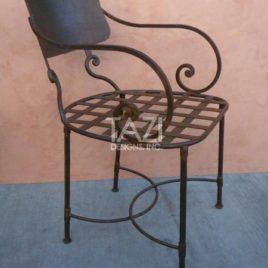 Mediterranean Iron Chair