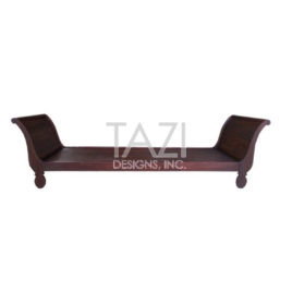 Contemporary Moroccan Wooden Bench