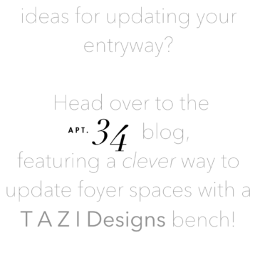 Check out our feature on Apartment 34 blog!