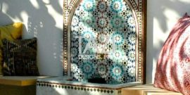 Moroccan Mosaic Fountains