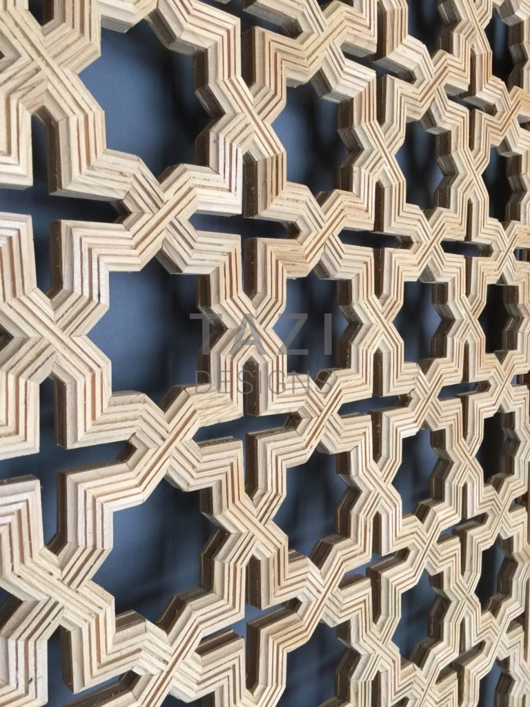 Moroccan Wood Screen T Biie Tazi Designs