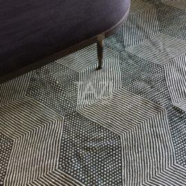 Diamond Pattern Rug