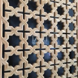 Moroccan Wood Screen