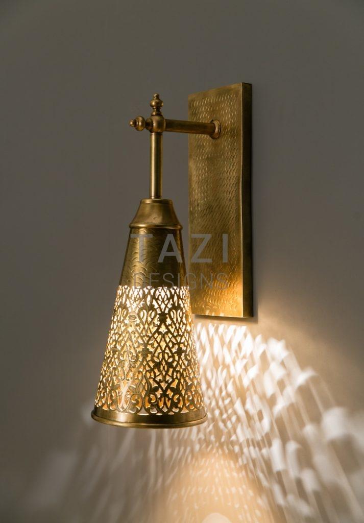Moroccan Wall Sconces Lighting : Gratus Moroccan Wall Sconce Tazi Designs