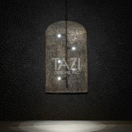 Contemporary Moroccan Hanging Barrel Light