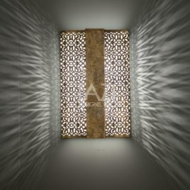Ashima Contemporary Moroccan Wall Sconce