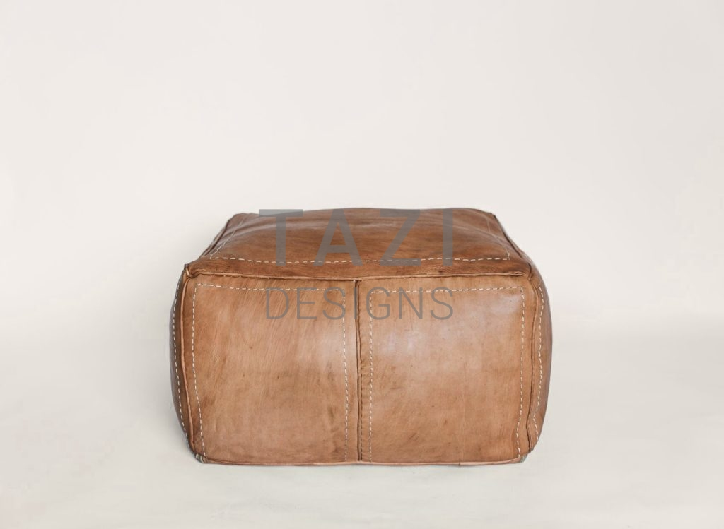 Leather pouf tazi designs - Design pouf ...