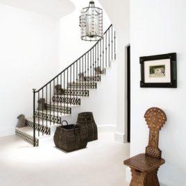 Moroccan Mosaic Stairway Design