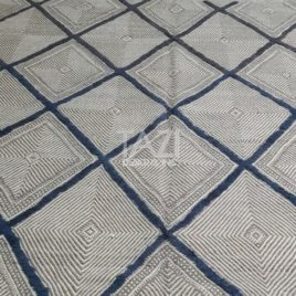 Hand-Knotted Wool Moroccan Rug