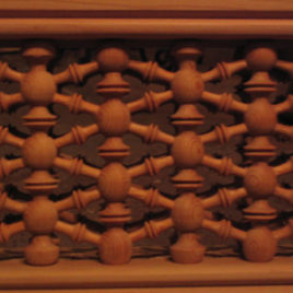 Syrian-Style Wood Panels (WC-701)
