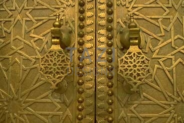Brass Door Details