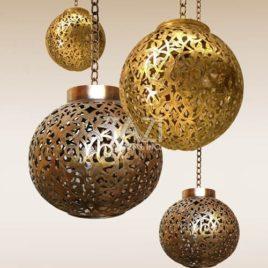 Moorish Pendant Lamp Cluster