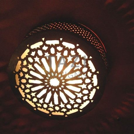 Ceiling Light – Middle Eastern Star