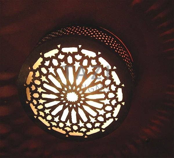Ceiling Light Middle Eastern Star
