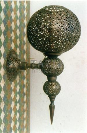 Moorish Sconce 0129