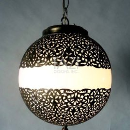 Modern Moroccan Pendant Light 12×14