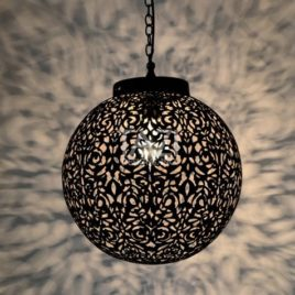 Moorish Pendant Light – Globe Pendant 12