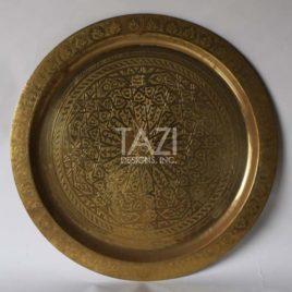 Moroccan Tray 35″ Diam.