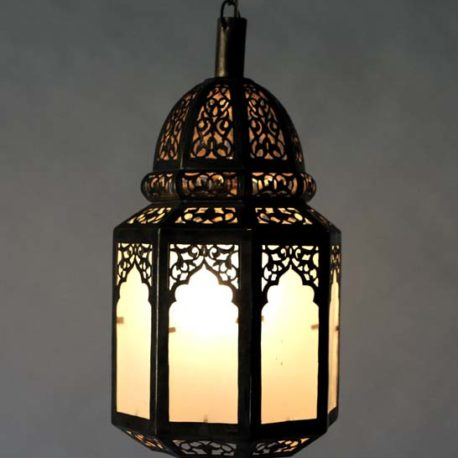 Moroccan Brass Lantern, Batoul Medium