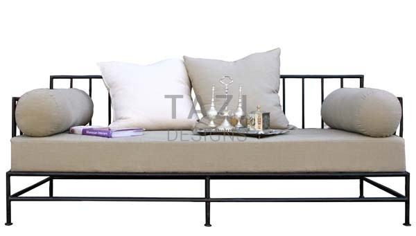 Moroccan Iron Day Bed Jasmine Tazi Designs