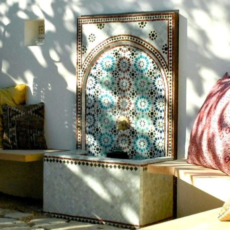 Moroccan Mosaic Fountain – California