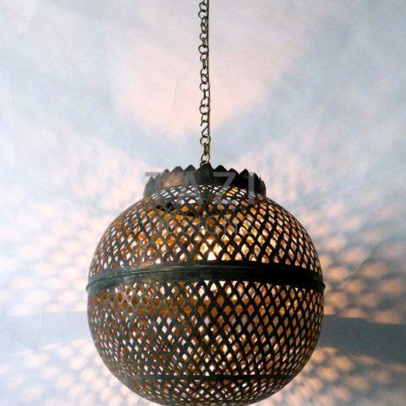 Moorish Sphere Light – Fish Scale