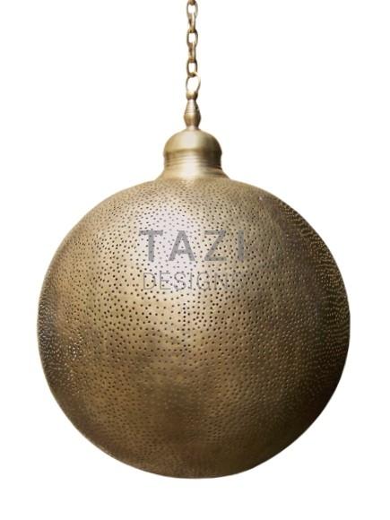Moorish Ceiling Pendant Light – Pin Dot Sphere 50