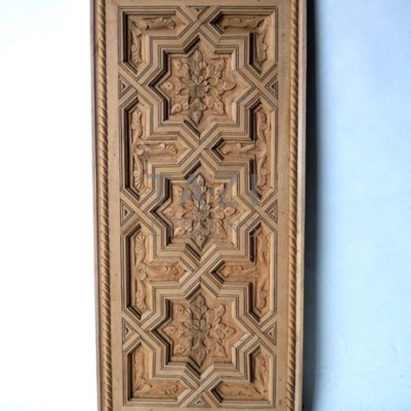 Moorish Wood Carved Panel – Tazi Designs