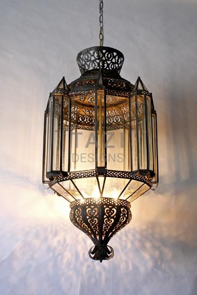 Large Moroccan Lantern 35.5