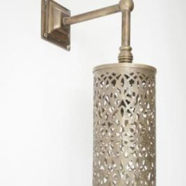 Moroccan Sconce Brass 16
