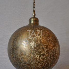 Moorish Ceiling Pendant Light – Pin Dot Sphere 2