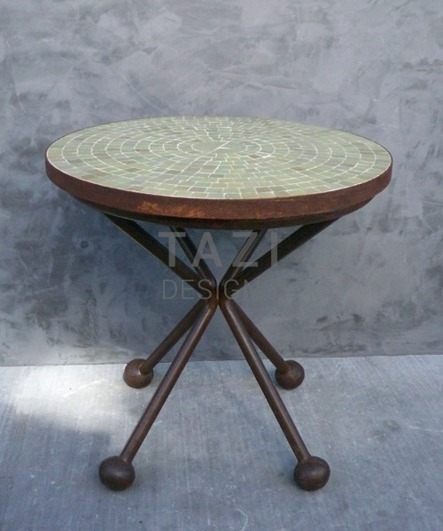 Modern Moroccan Mosaic Side Table