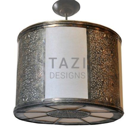 Moroccan Hanging Lamp – Drum III