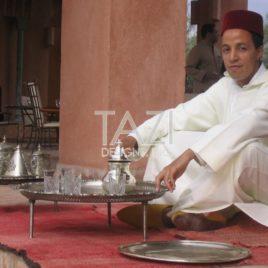 Jenna Moroccan tea tray set