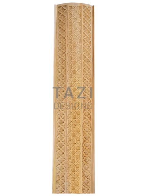 Moroccan Woodwork Carved Wood Trim 4418 Tazi Designs