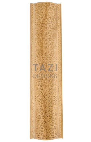 Moroccan woodwork, carved wood trim (4421)