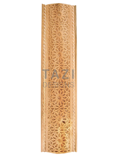 Moroccan woodwork, carved wood trim (4423)