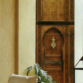 Antique Moroccan Door