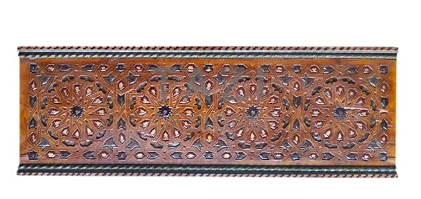 Moroccan Hand-Painted Wood Trim
